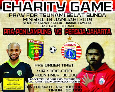 Gubernur Ridho Ajak Nonton Laga Amal Persija vs Pra PON Lampung