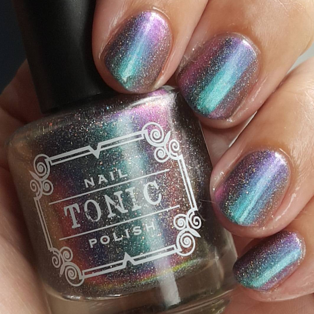 dragon tears, multichrome, holo, shifty, polish, nails