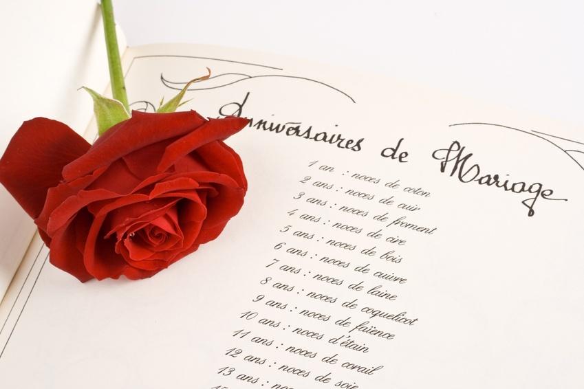 anniversaire de mariage 1 an poeme