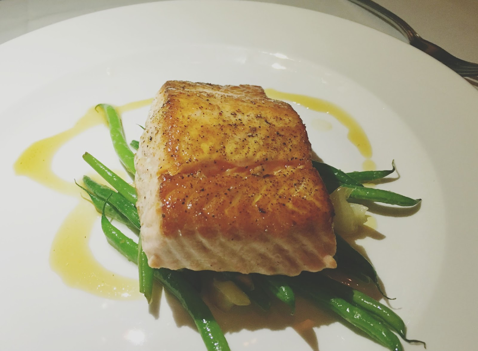salmon at The Capital Grille - A restaurant in Houston, Texas