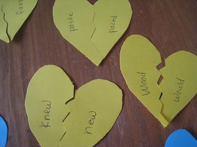 valentine language arts