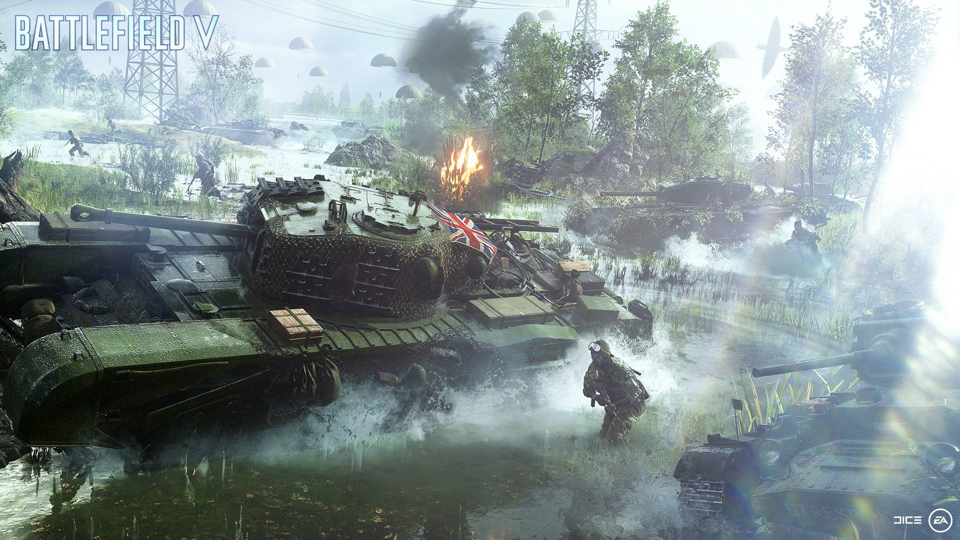 Background Images Read Games Review: Battlefield V HD Wallpapers