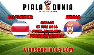 Prediksi Bola Kosta Rika vs Serbia 17 Juni 2018