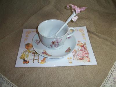 tazza colazione, tovaglietta sarah kay, cup
