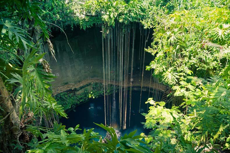 El cenote Xkeken | México