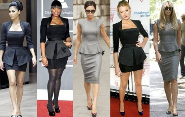 peplum dress worst fashion 2014