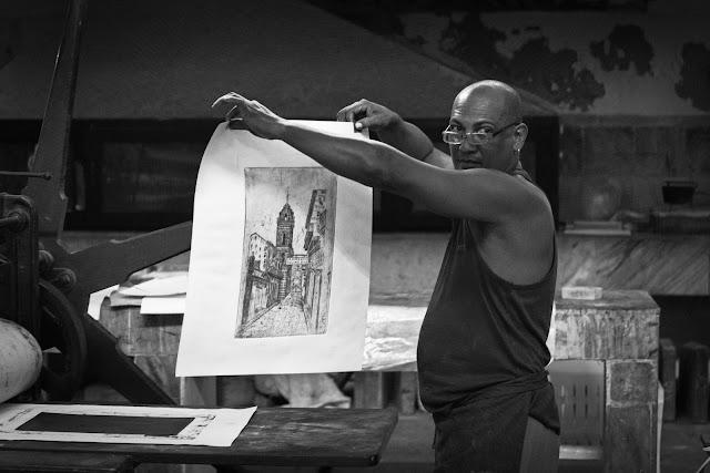 El Taller Experimental de Gráfica en la Habana Vieja