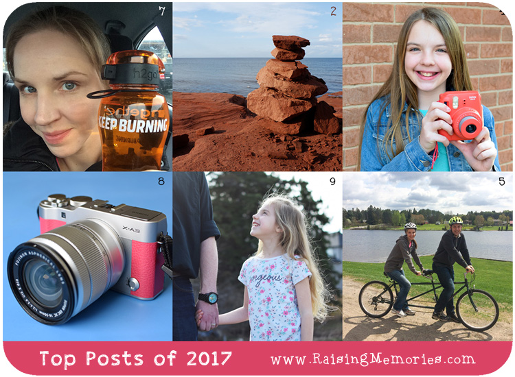 Most Popular 17 Blog Posts of 2017 on www.RaisingMemories.com
