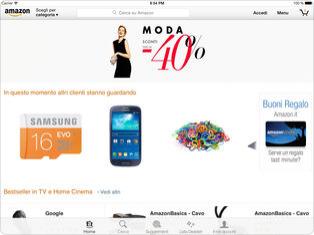 Amazon Mobile si aggiona alla vers 13.17.2