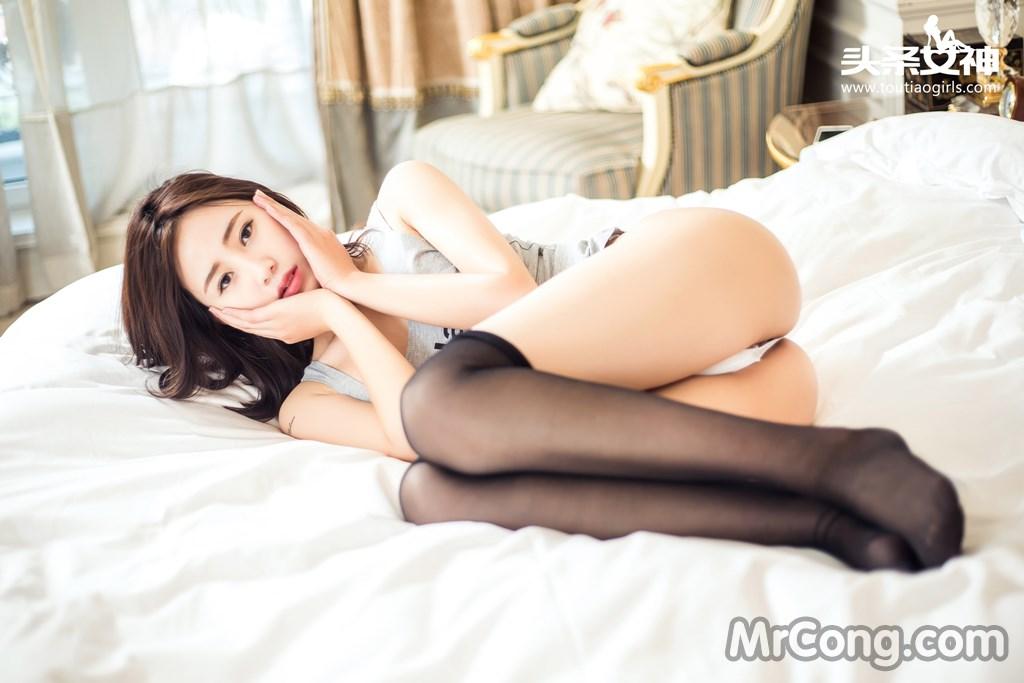 Image MrCong.com-TouTiao-2016-08-14-Zhen-Zhen-008 in post TouTiao 2016-08-14: Người mẫu Zhen Zhen (甄甄) (20 ảnh)