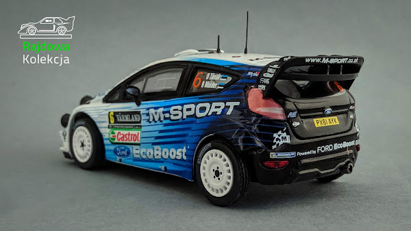 IXO / The Diecast Club Ford Fiesta RS WRC, Rally Swden 2015