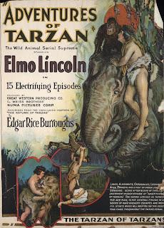 Imagen : Portada novela de Tarzán