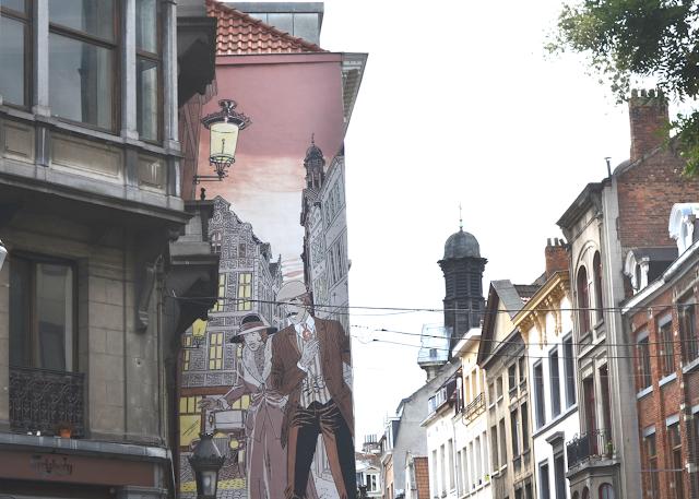 Street Art Bruxelles Parcours BD