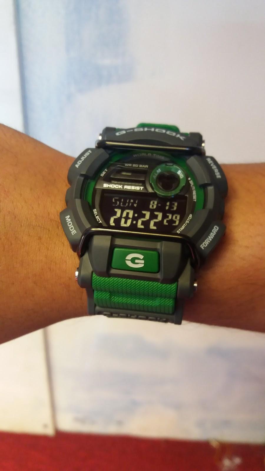 Spesifikasi Watch G Shock Gd 400 Dan Cara Setingnya Casio 400mb 1dr Setting