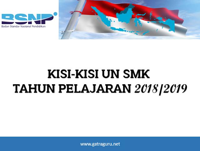 Kisi-Kisi UN SMK 2018/2019