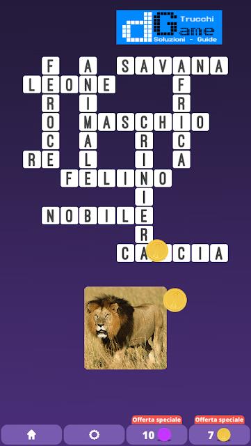 Soluzioni One Clue Crossword livello 2 schema  4  (Cruciverba illustrato)  | Parole e foto