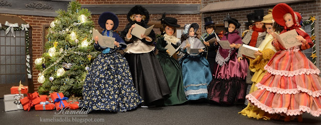 Barbie and Ken fashion inspired by 19th century fashion.