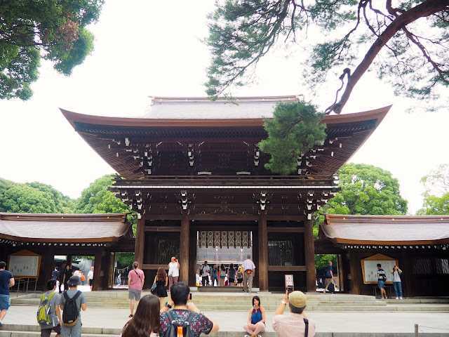 Meiji Jingu Shrine, Tokyo, Japan