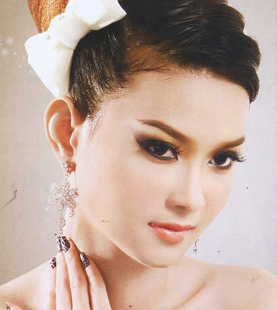 Cambodian Wedding Hairstyles: Cambodian Hairstyle: Khmer Actress Hairstyle 2012