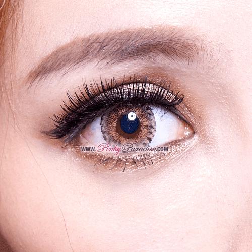Vassen Sirius Brown Circle Lenses Closeup