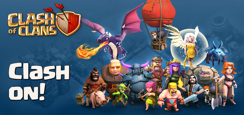 clash of clans troops