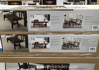 Costco 1142560 - Bayside Furnishings Bench: rustic yet functional