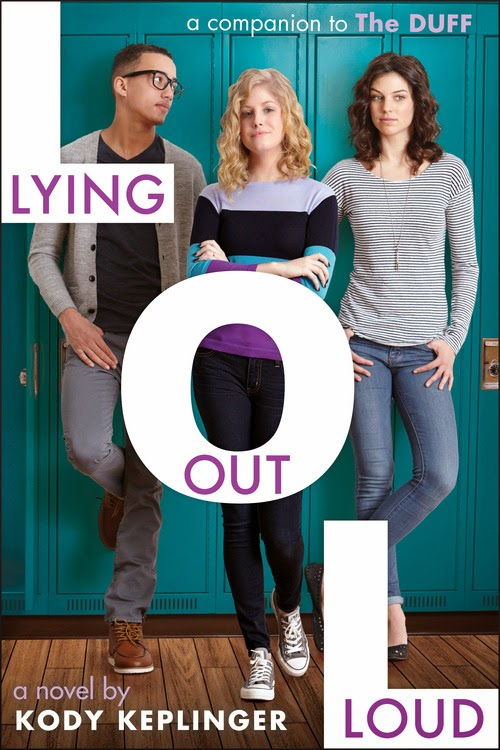 Lying Out Loud by Kody Keplinger - Book Cover