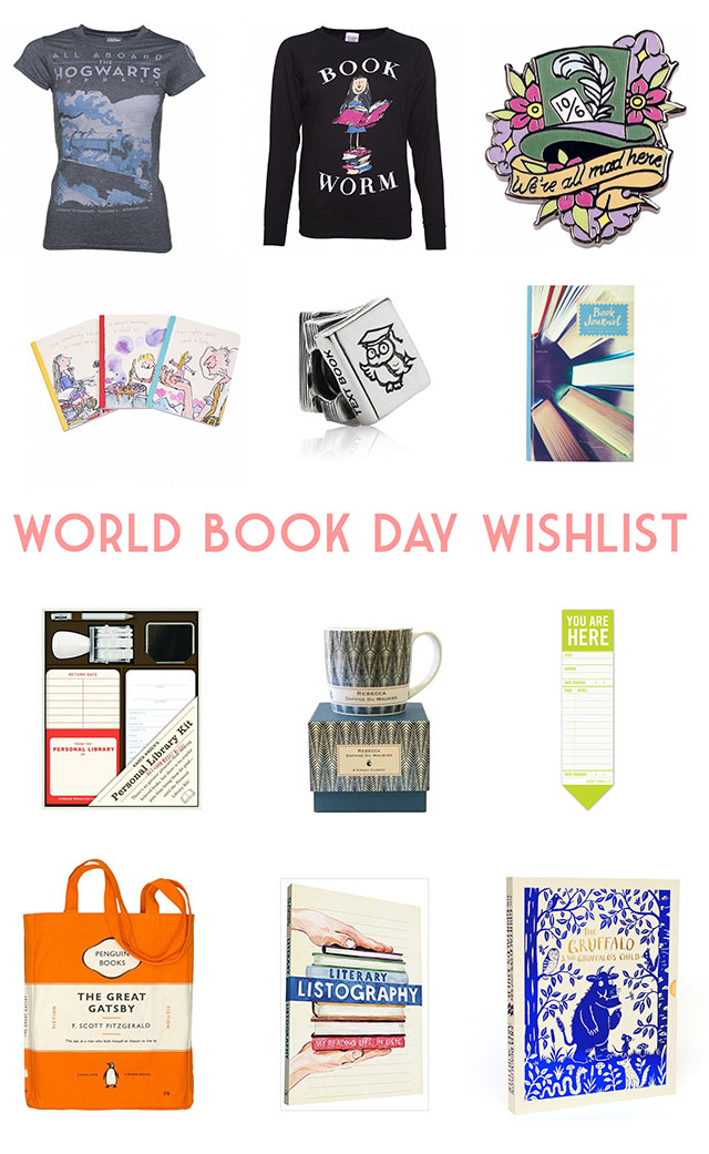 World Book Day wishlist