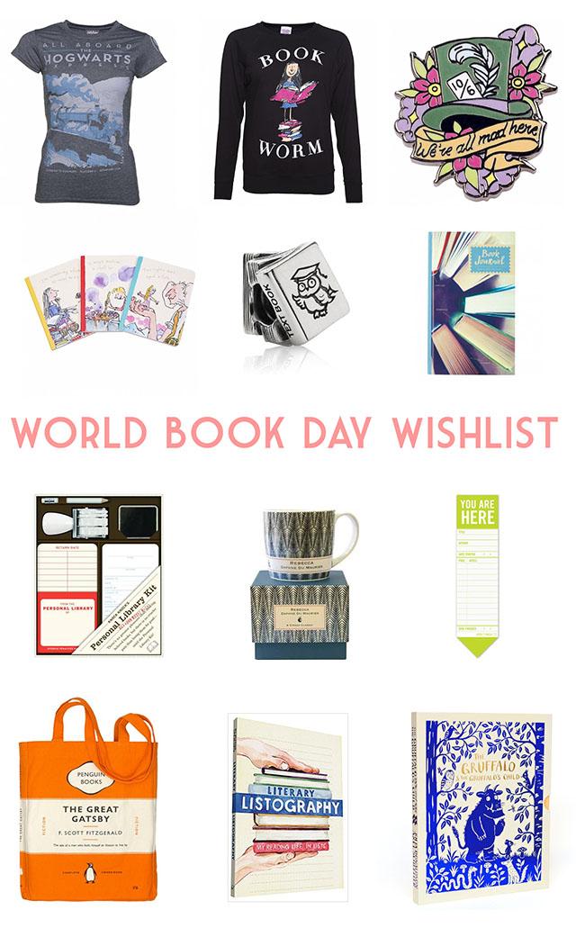 World Book Day wishlist
