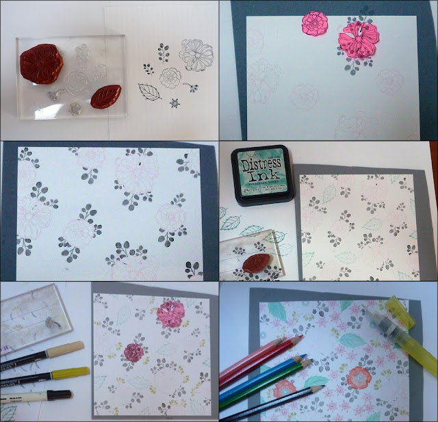 stamped paper tutorial