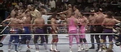 WWE SURVIVOR SERIES 1988 - 20 MAN TAG TEAM MATCH