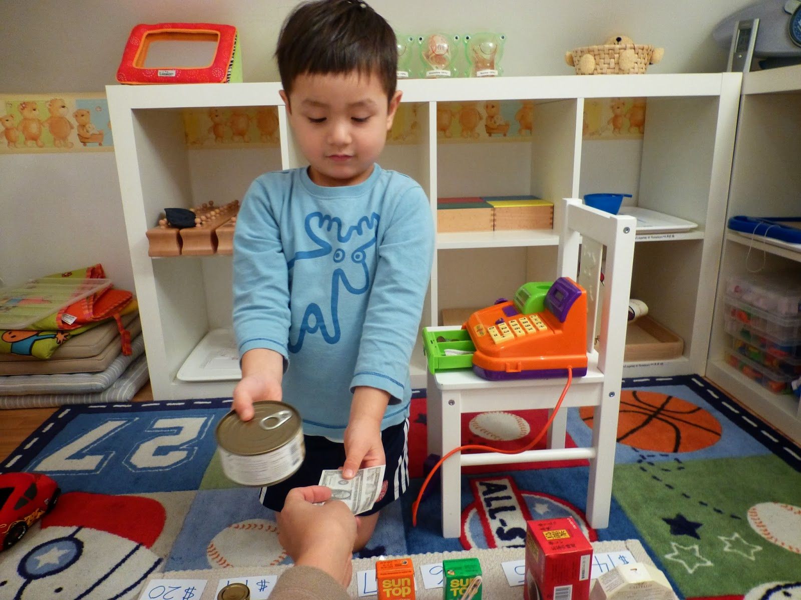 Family Fecs Supermarket Grocery Store Pretend Play