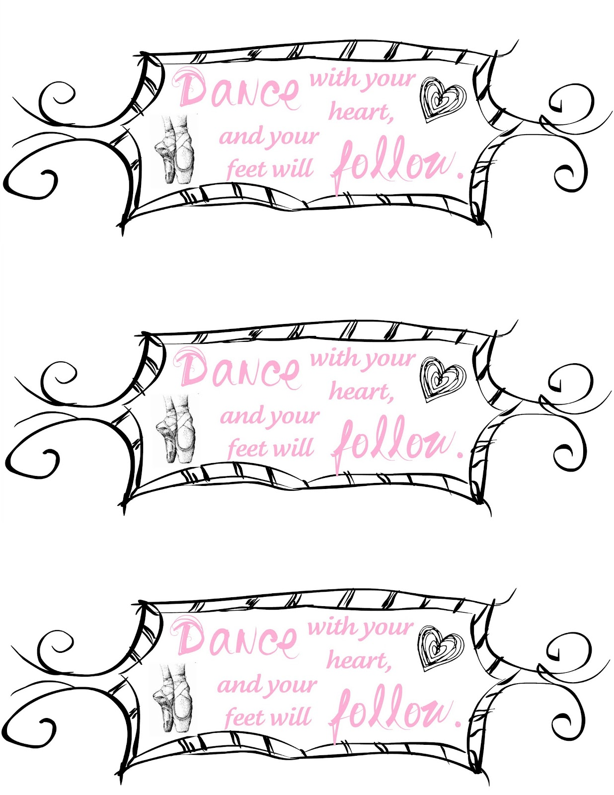Create A Dance Party With Free Printables Tutu Wreath