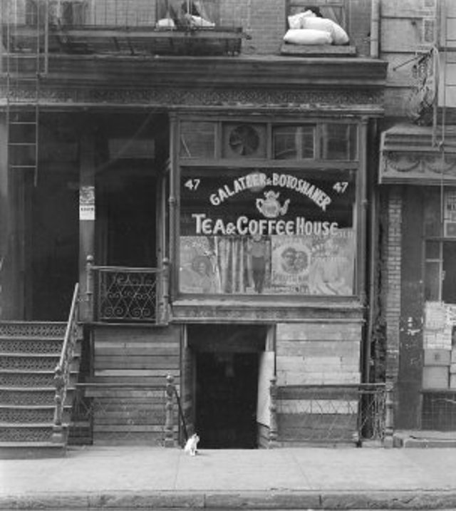 Old Photos Of New York City Coffee Shops In The Past