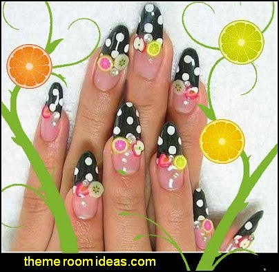 Fruit Sticks Nail Art - fruit nail designs - fruit nail art