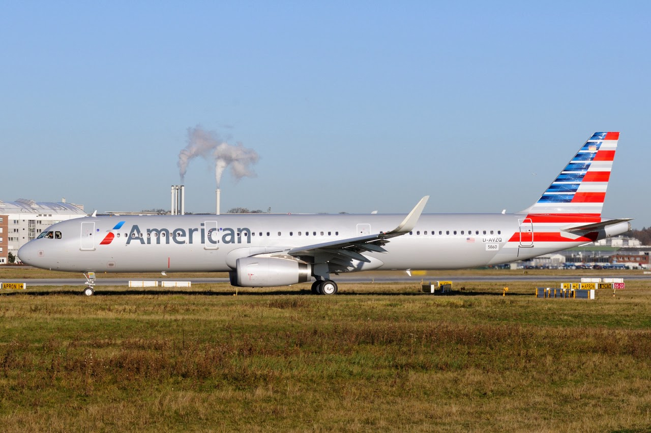 My first ever paintjob - American Airlines Virtual