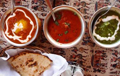 At the Rajasthani table