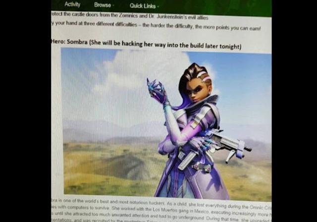 Se filtra imagen de Sombra de Overwatch y diversas personas intentan hackear para conseguirlo