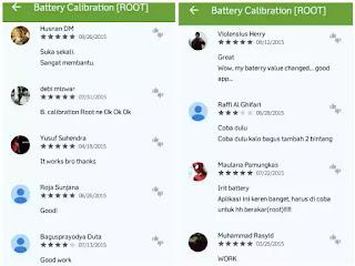 Beberapa hari yang kemudian saya pernah menciptakan postingan perihal  Cara Kalibrasi Baterai Android Tanpa Root Dengan Sangat Mudah