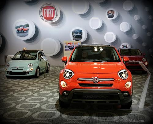 Fiat 500X and 500 Cabrio