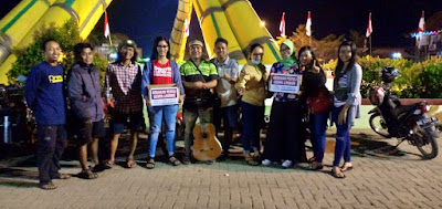 Forkompapri Galang Dana Bantuan Korban Gempa Lombok