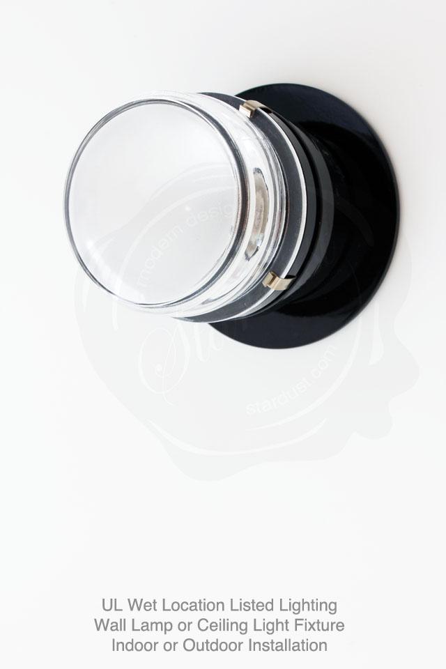 Modern Fresnel Lens Oluce Joe Colombo Lamp Wall Lighting