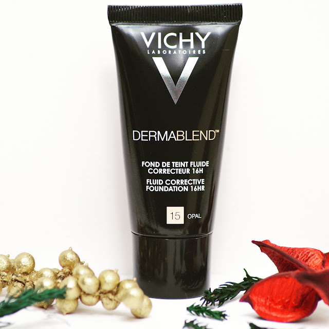 Lovelaughslipstick blog - Vichy Dermablend Foundation Corrective Stick and Setting Powder Review