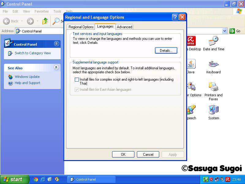 Install files for east asian languages download