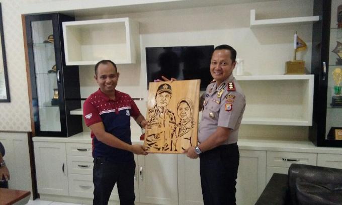Pamit Pindah Tugas, Kapolres Indra Silaturahmi bersama Awak Media, Ini Kesannya