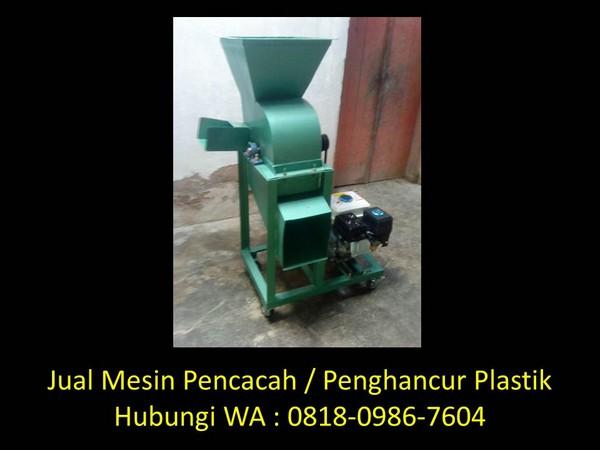 mesin penghancur gelas plastik di bandung