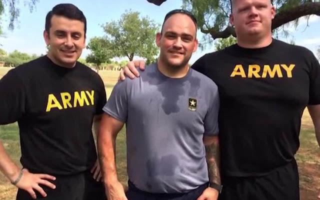 Για να καταταγεί στον στρατό έχασε 90 κιλά