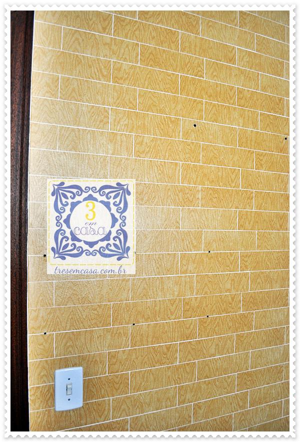 adesivo na parede