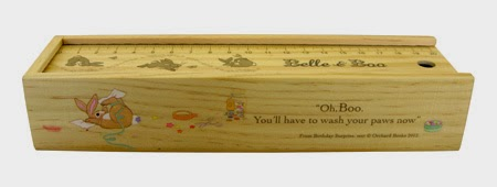 Stocking Fillers for Kids - wooden pencil box