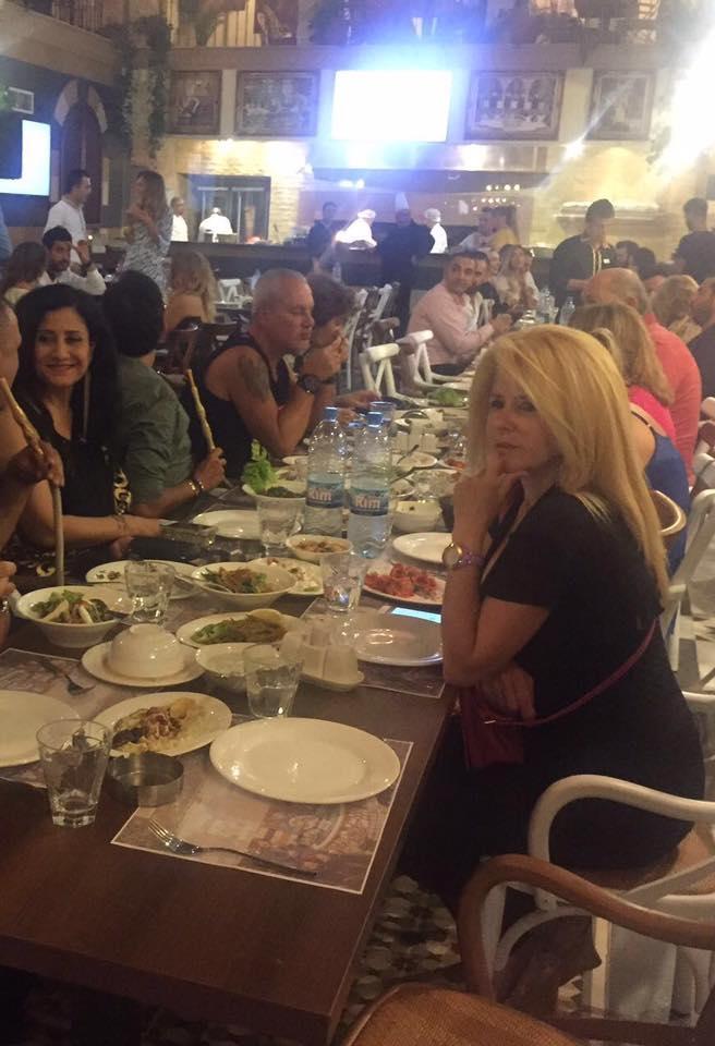 افتتاح مطعم النوافير في بيروت